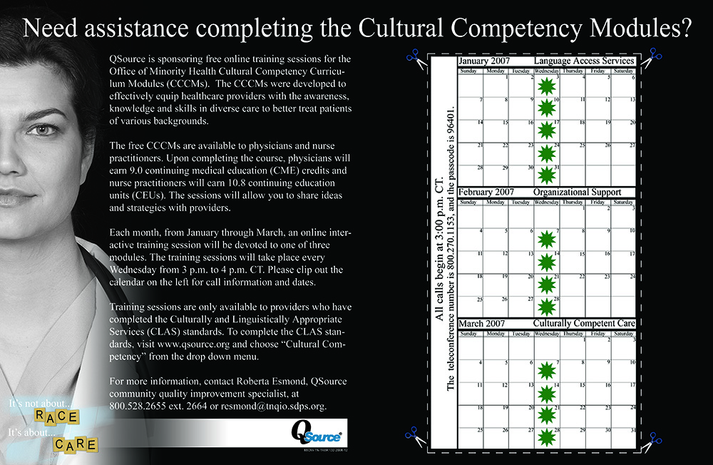 Cultural Competency Example 3