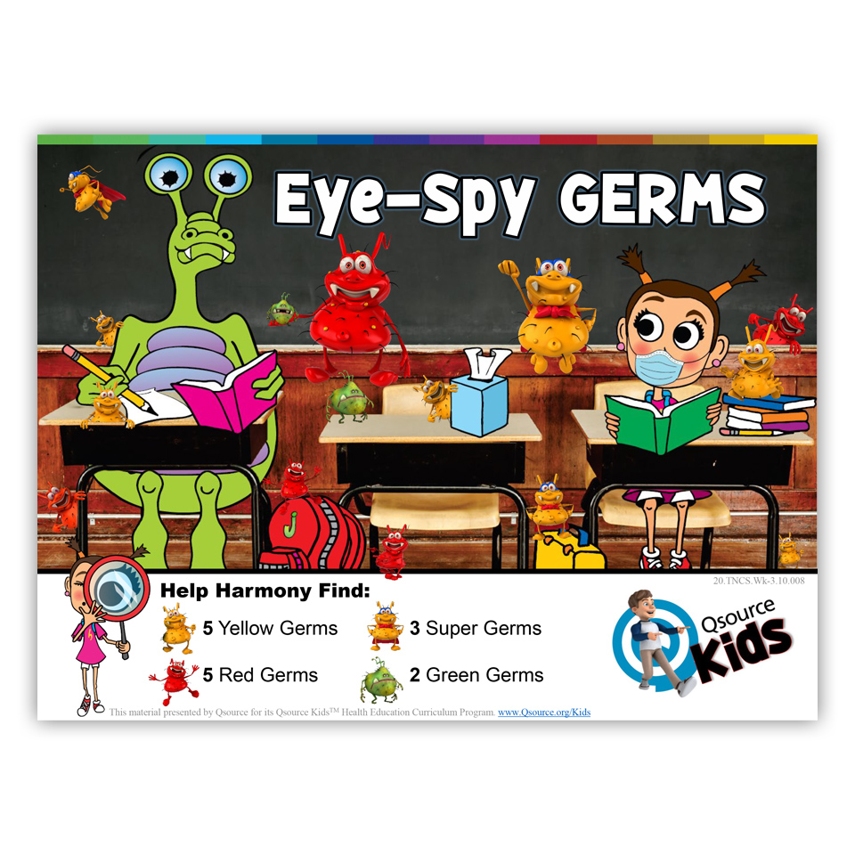 Eye Spy - Germs Puzzle